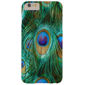 Blue Green Peacock Feathers Barely There iPhone 6 Plus Case