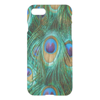 Blue Green Peacock Feathers iPhone 8/7 Case