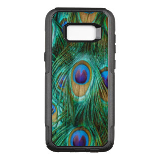 Blue Green Peacock Feathers OtterBox Commuter Samsung Galaxy S8+ Case