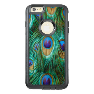 Blue Green Peacock Feathers OtterBox iPhone 6/6s Plus Case