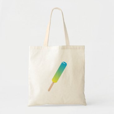 Beach Themed Blue Green Popsicle Tote