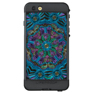 Blue Green Purple Mandala Lifeproof iPhone Case