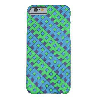 Blue-Green Question Pattern Barely There iPhone 6 Case