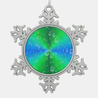 Blue Green Rainbow elephanten skin leather optics Ornament