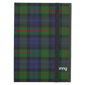 Blue, Green, & Red Murray Tartan Plaid Custom iPad Cover