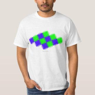 """""""Blue Green Round Tess"""" t-shirt"""