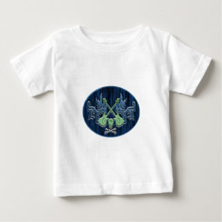 Blue Green skirt Baby T-Shirt