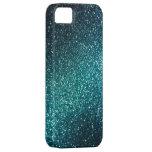 Blue/Green Sparkle Glitter iPhone 5 Case