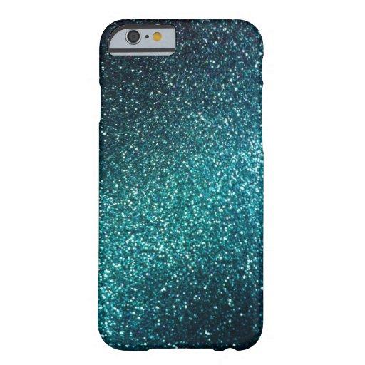 Case Design sparkle phone cases : Blue/Green Sparkle Glitter iPhone 6 case : Zazzle