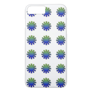 Blue Green Splash iPhone 8 Plus/7 Plus Case