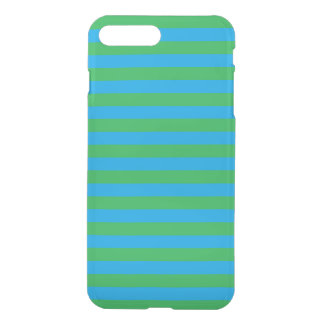 Blue & green stripes phone case