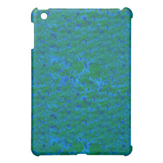 Blue Green Textures Fish in the Sea iPad Mini Case