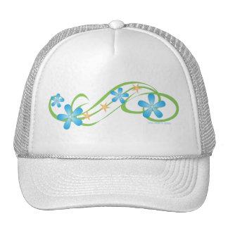 Blue Green Tropical Trucker Hat