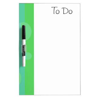 Blue Green White Board Dry-Erase Boards