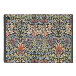 Blue Green William Morris Tapestry Cover For iPad Mini