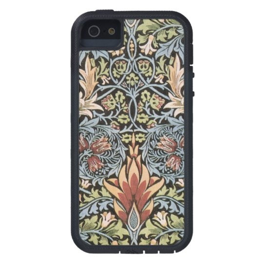 Blue Green William Morris Tapestry iPhone SE/5/5s Case