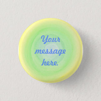Blue Green Yellow Sphere Your Message Here Buttons