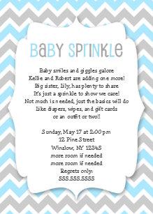 Baby boy shower invitations zazzle blue grey baby sprinkle boy baby shower invite filmwisefo