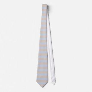 Blue Grey Brown Pastel pattern Neck Tie