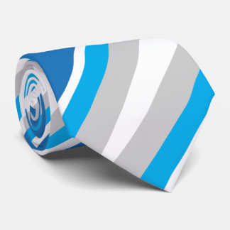 Blue & Grey Conservative2 Neck Tie