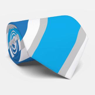 Blue & Grey Conservative Tie