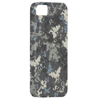 Blue Grey iPhone 5 digital camo case iPhone 5 Covers
