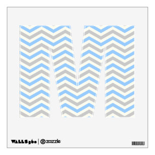 Zig Zag Wall Decals Stickers Zazzle
