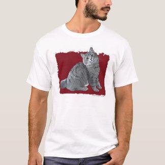 Blue/Grey Tabby Cat T-Shirt