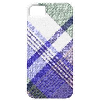 Blue Grey Tartan Plaid Case iPhone 5 Cases