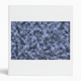 Blue grey white black mottled pattern design binders