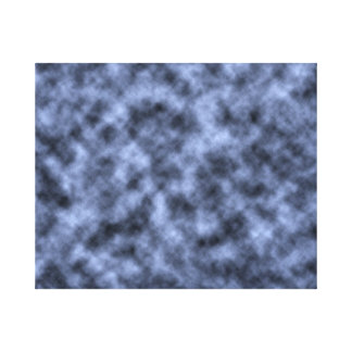 Blue grey white black mottled pattern design gallery wrapped canvas
