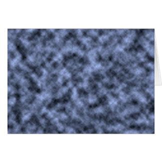 Blue grey white black mottled pattern design cards