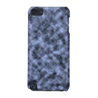 Blue grey white black mottled pattern design iPod touch 5G cases