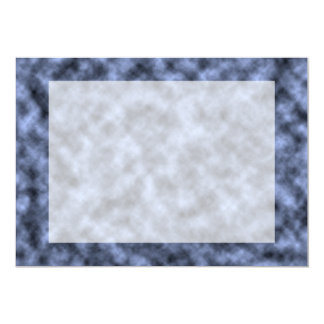 Blue grey white black mottled pattern design custom announcement