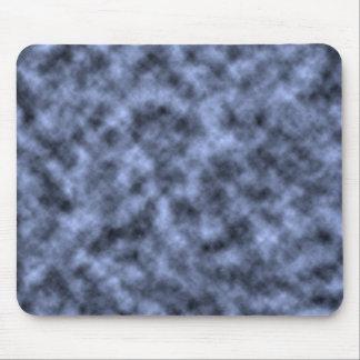 Blue grey white black mottled pattern design mousepads