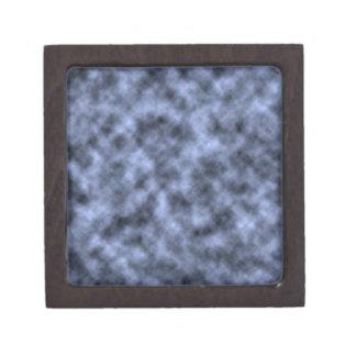 Blue grey white black mottled pattern design premium jewelry boxes