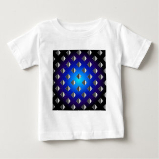 Blue grid background baby T-Shirt