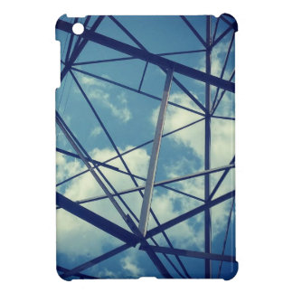 BLUE GRID: Power & Nature Case For The iPad Mini