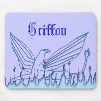 Blue Griffon Mouse Pad