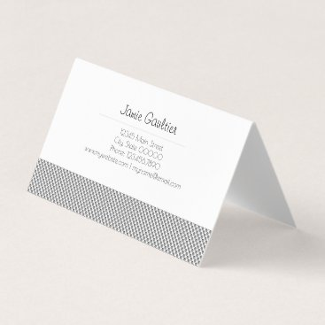 Blue Grillage Business Card
