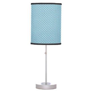 Blue Grillage Desk Lamp
