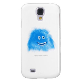 Blue Grinning Critter Galaxy S4 Covers