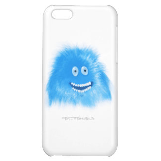 Blue Grinning Critter Cover For iPhone 5C