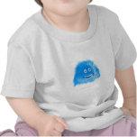 Blue Grinning Critter T Shirts