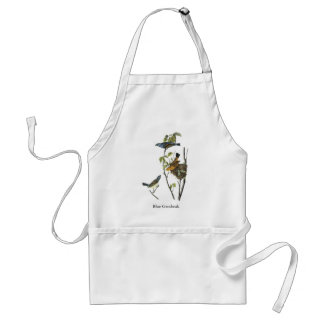 Blue Grosbeak John James Audubon Adult Apron