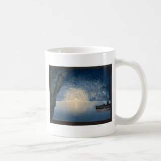 Blue grotto, Capri, Island of, Italy vintage Photo Coffee Mug