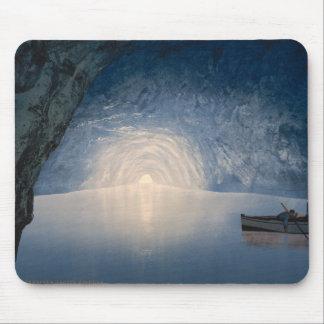 Blue Grotto, Island of Capri, Campania, Italy Mouse Pad