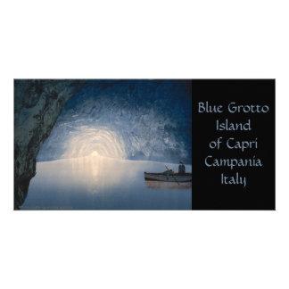 Blue Grotto, Island of Capri, Campania, Italy Photo Card