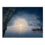 Blue Grotto, Island of Capri, Campania, Italy Postcard