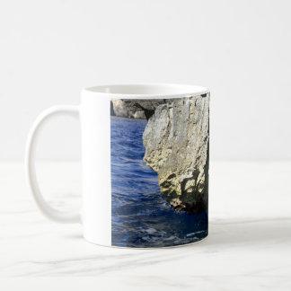 Blue Grotto, Malta Classic White Coffee Mug